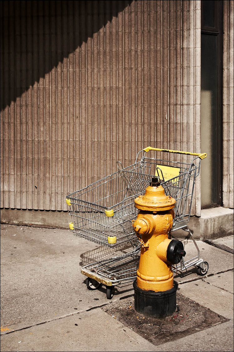 cart and firehydrant || canon350d/ef17-40L@28 | 1/160s | f9 | P | iso100 | handheld