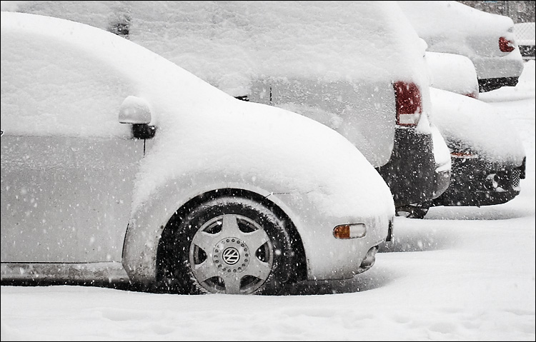 cars in snow || canon350d/efs60 | 1/125s | f6.3 | Tv@+0.7 | iso400 | handheld