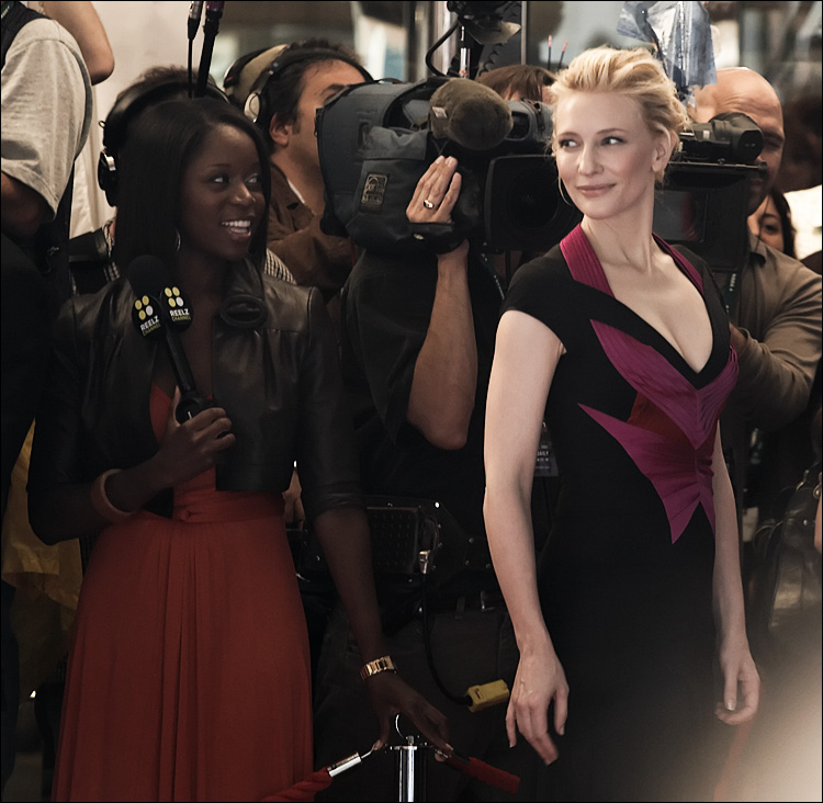 Cate Blanchett || Canon5D/EF70-200f4L@200 | 1/60s | f4 | ISO800 | Handheld