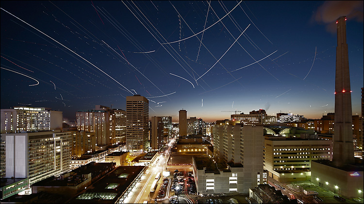 stars and planes || Canon 5D/EF17-40L | ISO200