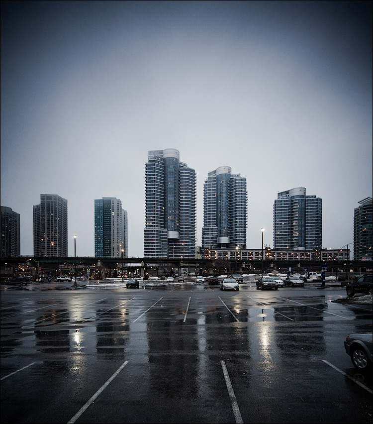 rain and towers || Canon5D/Sigma12-24@16 | 1/30s | f5 | ISO800 | Handheld