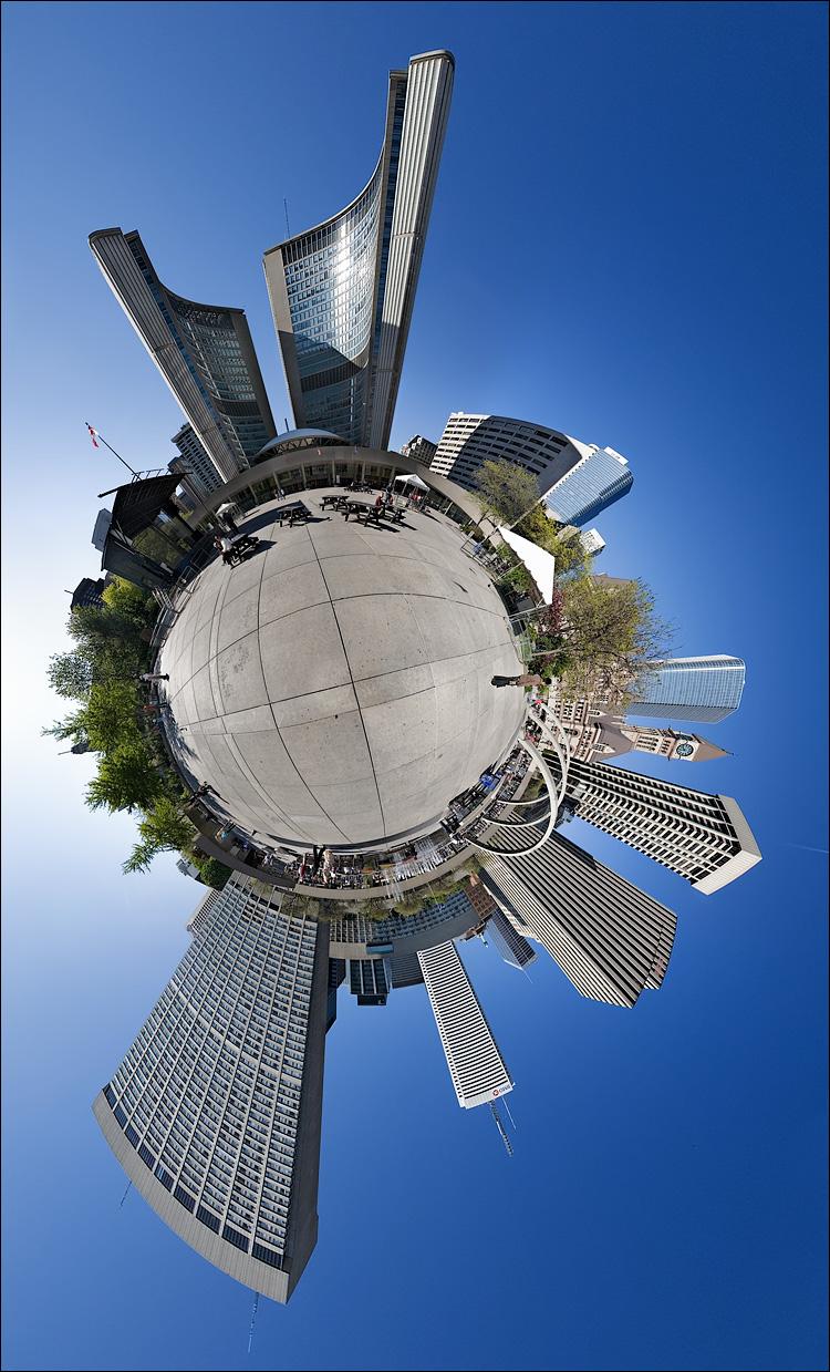 city hall tunnel || Canon5D/EF15Fisheye | 8 photos | ISO100 | tripod | NodalNinja3
