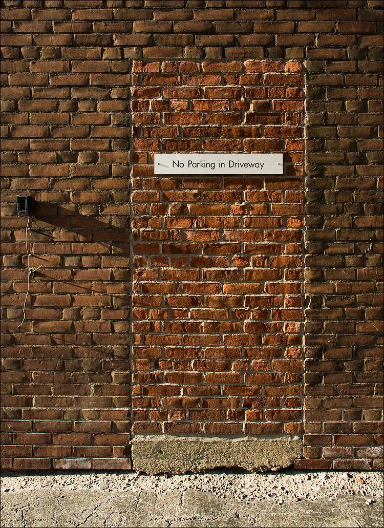 brick door | September 22 2008 & daily dose of imagery] brick door