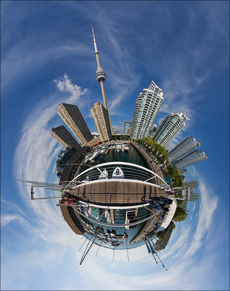 planet harbourfront || Canon5D/EF15f2.8 | Nodal Ninja 3