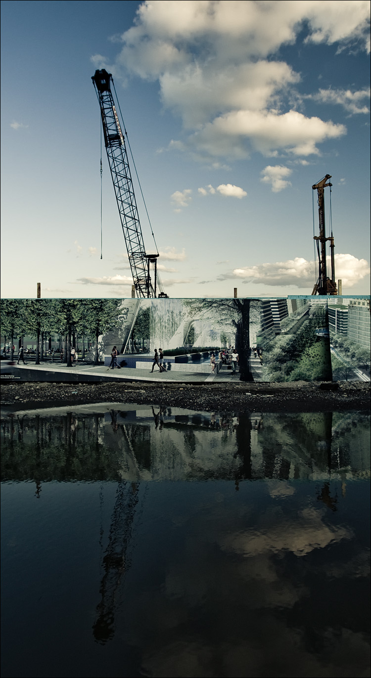 landscape under construction || Canon5D2/EF17-40L@17 | 1/80s | f8 | ISO400