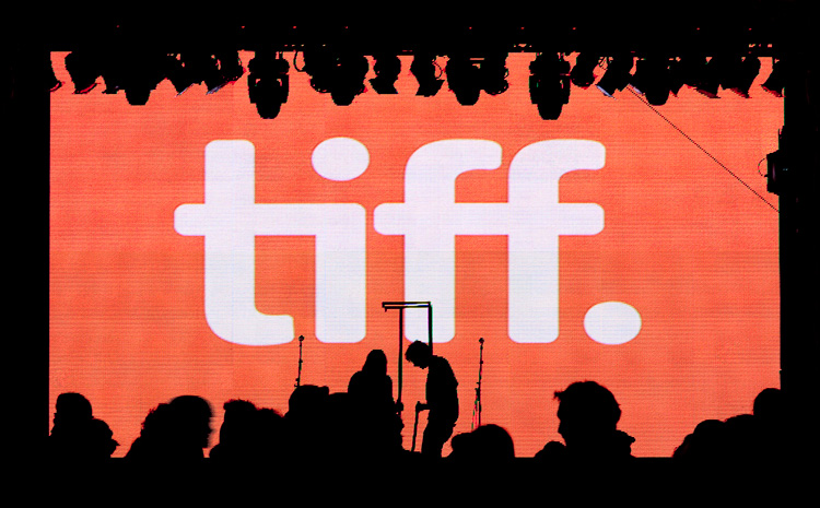 Tiff screen at yonge dundas square where they have free screenings
