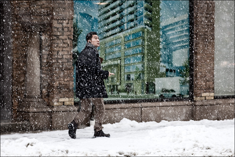 snow watcher || Cnon5D2/EF200f2.8L | 1/200s | f5 | ISO800