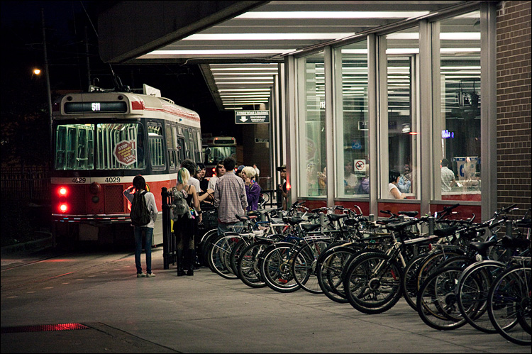 bikes at station || Canon 5D2/EF24-105f4L@105 | 1/60s | f4 | ISO3200