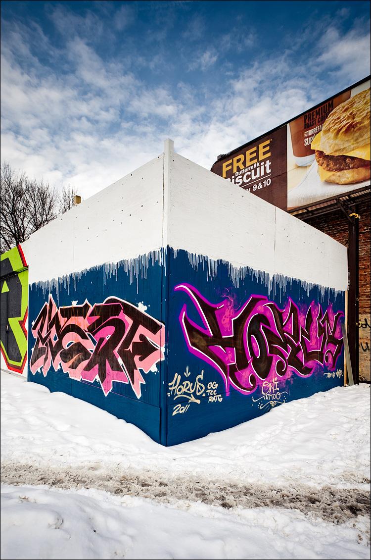 Graffiti corner || Canon5D2/EF17-40L@17 | 1/160s | f8 | ISO100