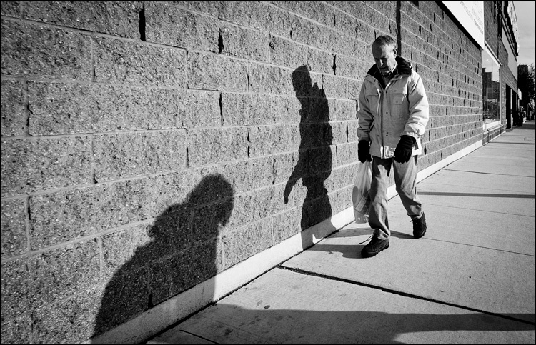 Man and Shadow || Panasonic GH2/Vario 7-14@7 | 1/400s | f9 | ISO160