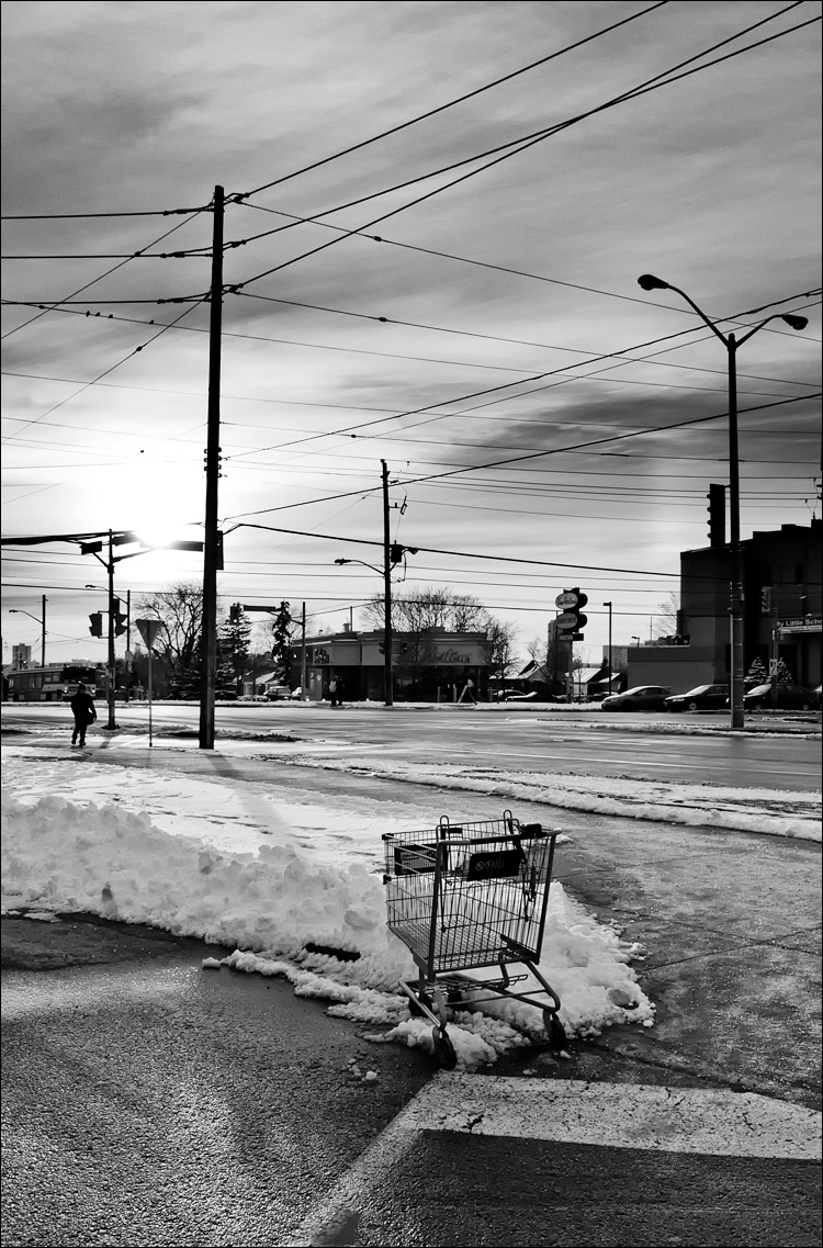 The Shopping Cart || Panasonic GH2/Vario14-140@28 | 1/400s | f9 | ISO160