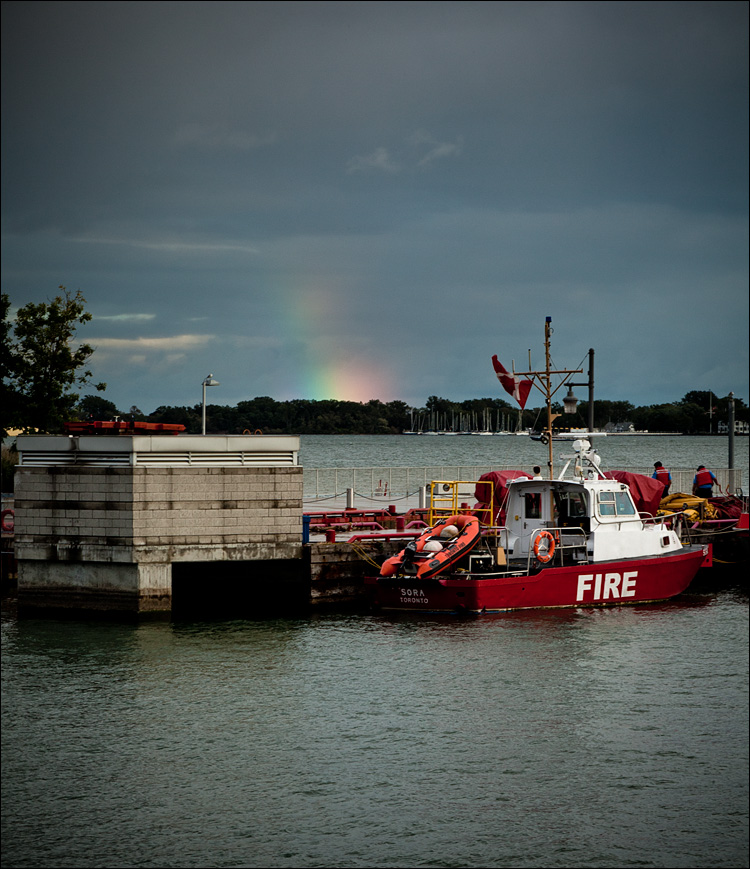 Fire and Rainbow || Canon 5D2/EF24-105f4L@105 | 1/30s | f22 | ISO400