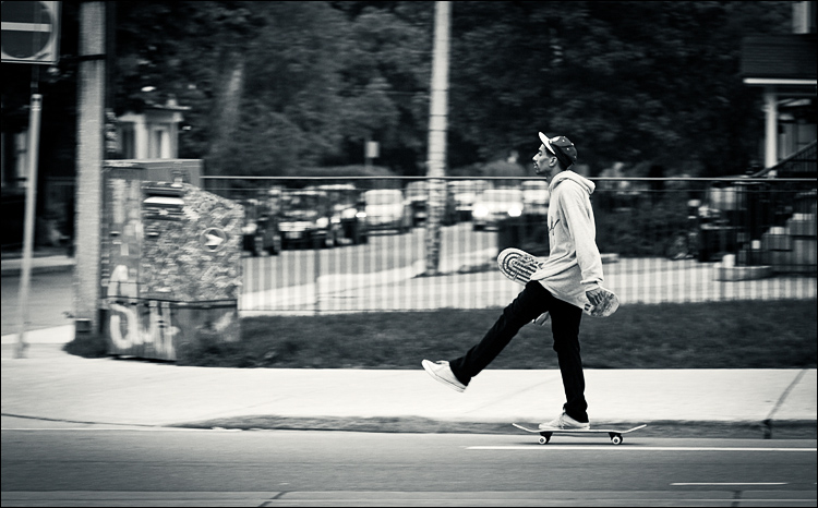 College Skater || Canon5D2/EF24-105f4L@105 | 1/100s | f4 | ISO400