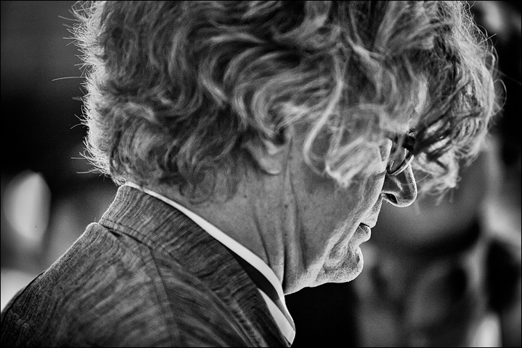 Wim Wenders || Canon5D2/EF70-200f2.8 | 1/60s | f2.8 | ISO1600
