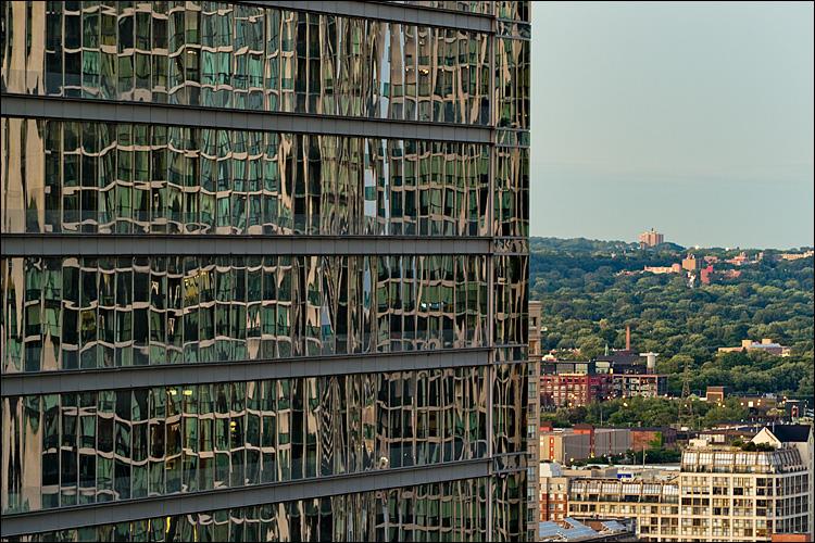 Reflected City || Panasonic GH2/Vario 100-300@136 | 1s | f8 | ISO160