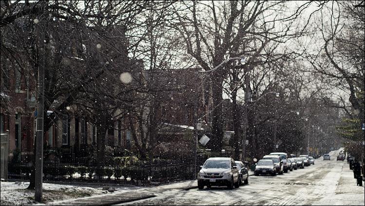 First Snow || Panasonic GH2/Olympus 45mm | 1/3200s | f3.2 | ISO160