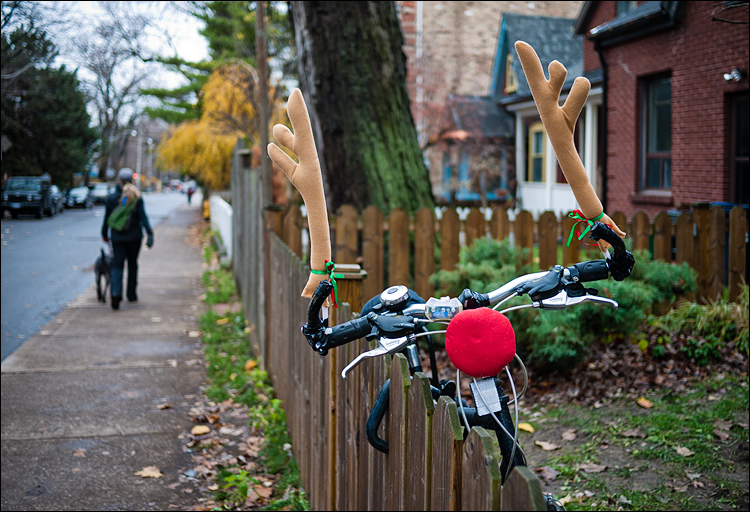 Reindeer Bike || Panasonic GF1/Lumix 20f1.7 | 1/160s | f1.7 | ISO100