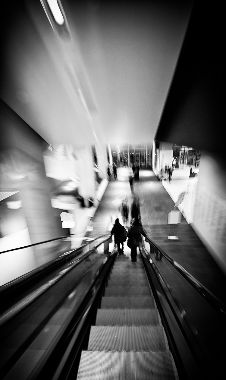 The Escalator || Canon 5D2/14f2.8 | 2s | f11 | ISO100
