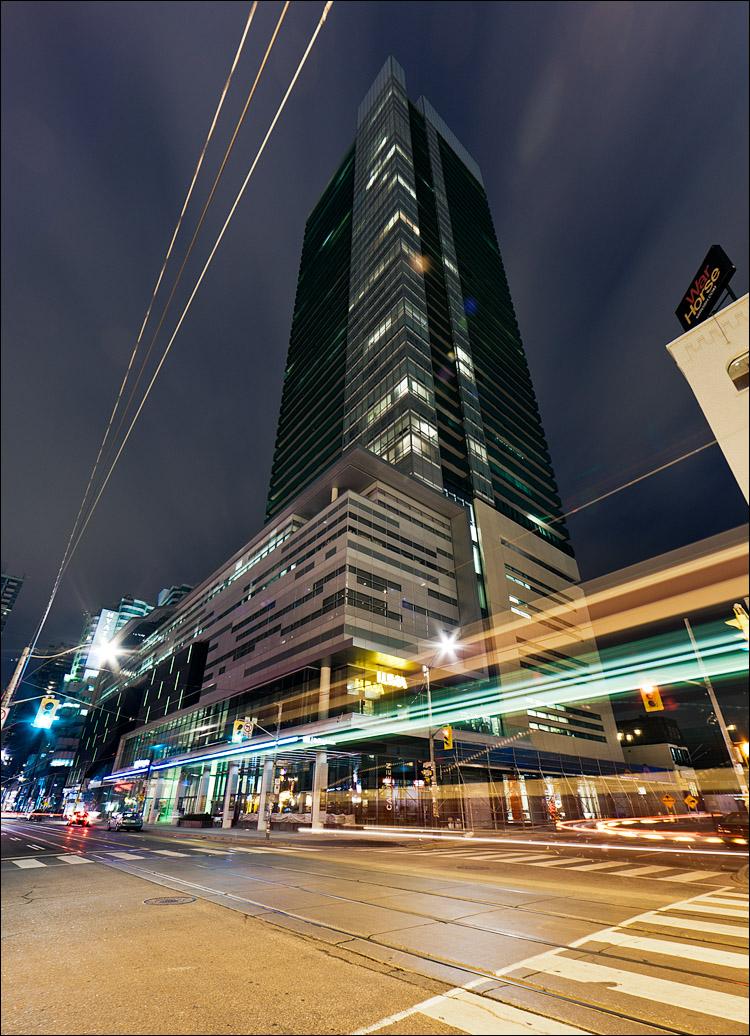 TIFF Lightbox at Night || Canon5D2/EF14f2.8 | 20s | f9 | ISO100