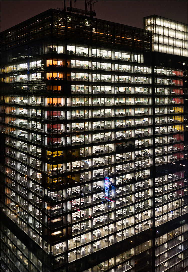 Offices in Glass || Panasonic GX1/Lumix14-140@14 | 1/6s | f4 | ISO400
