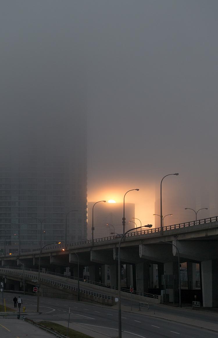 Foggy Sunset || Panasonic GX1/Olympus 45f1.8 | 1/1250s | f2.2 | ISO160