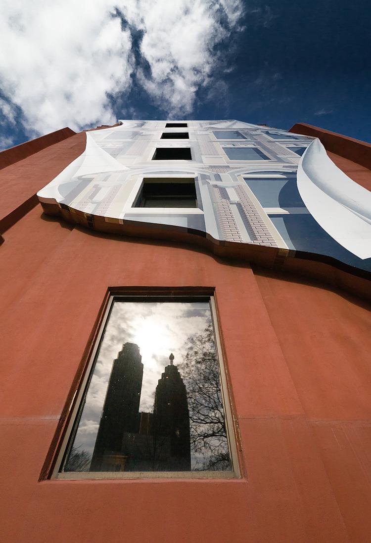 Towers on Glass || Panasonic GX1/Lumix7-14@7 | 1/640s | f9 | ISO160