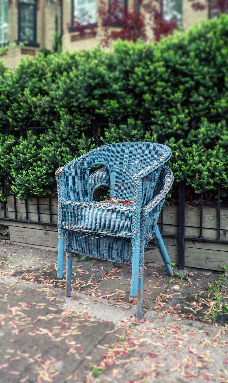Chair on Chair || Panasonic GX1/Lumix7-14@14 | 1/60s | f4 | ISO1250