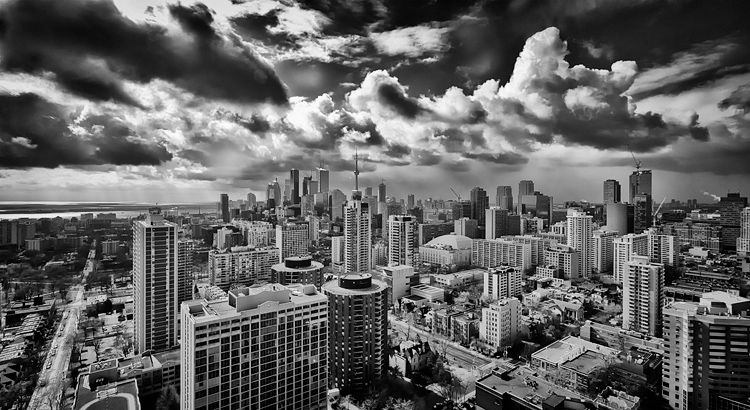 Toronto under Clouds || Panasonic GH2