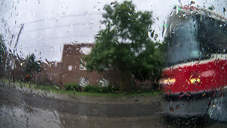 Warped Rain  || PanasonicGX1/Rokinon7.5Fisheye | 1/60s | ISO160