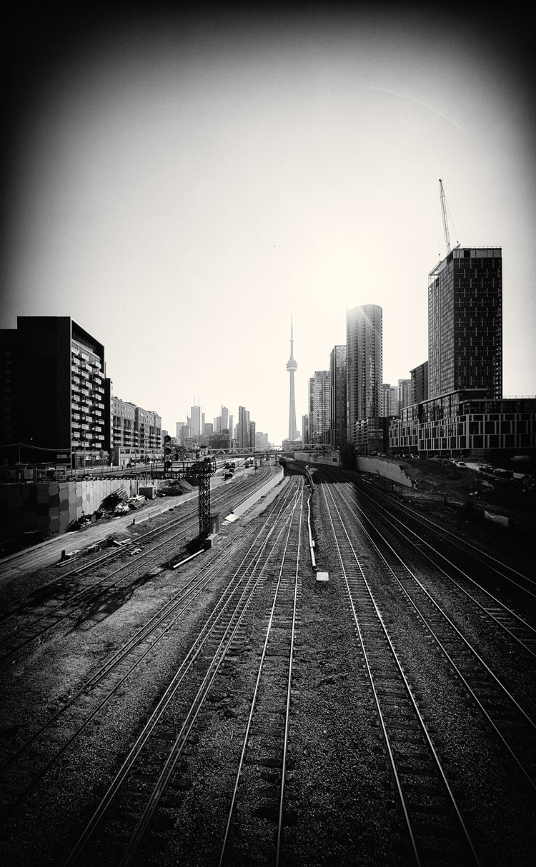 Rails and Towers || Canon5D2/Sigma12-24@12 | 1/400s | f8 | ISO100