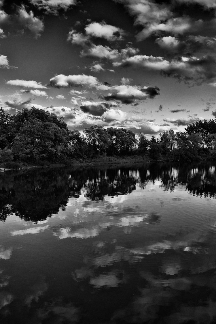 Cloud Mirror || Panasonic GX1/Lumix14-140@14 | 1/250s | f5.6 | ISO160