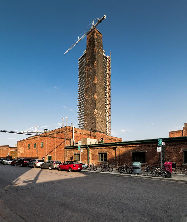 Tower and Smokestack || Panasonic GX1/Lumix7-14@7 | 1/250s | f6.3 | ISO160