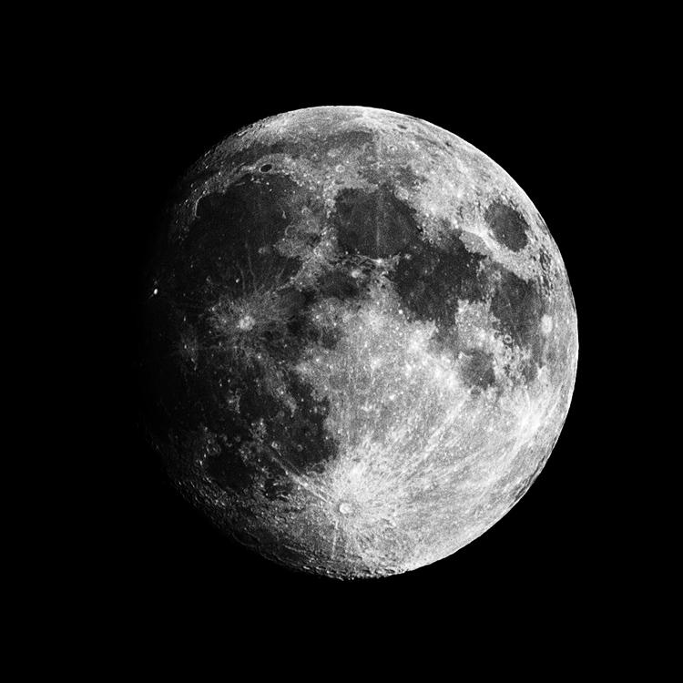 The Moon || Panasonic GX1/Lumix100-300@286 | 1/200s | f8 | ISO160