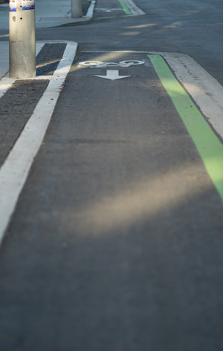 Bike Lane || Panasonic GH3/Olympus 75mm f1.8 | 1/1250s | f1.8 | ISO200