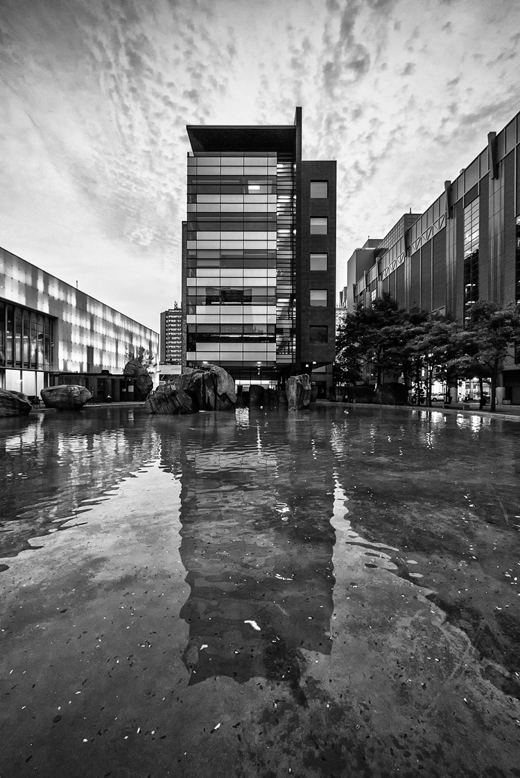 Ryerson on Water || Panasonic GX1/Lumix7-14 | 1/60s | f4 | ISO500