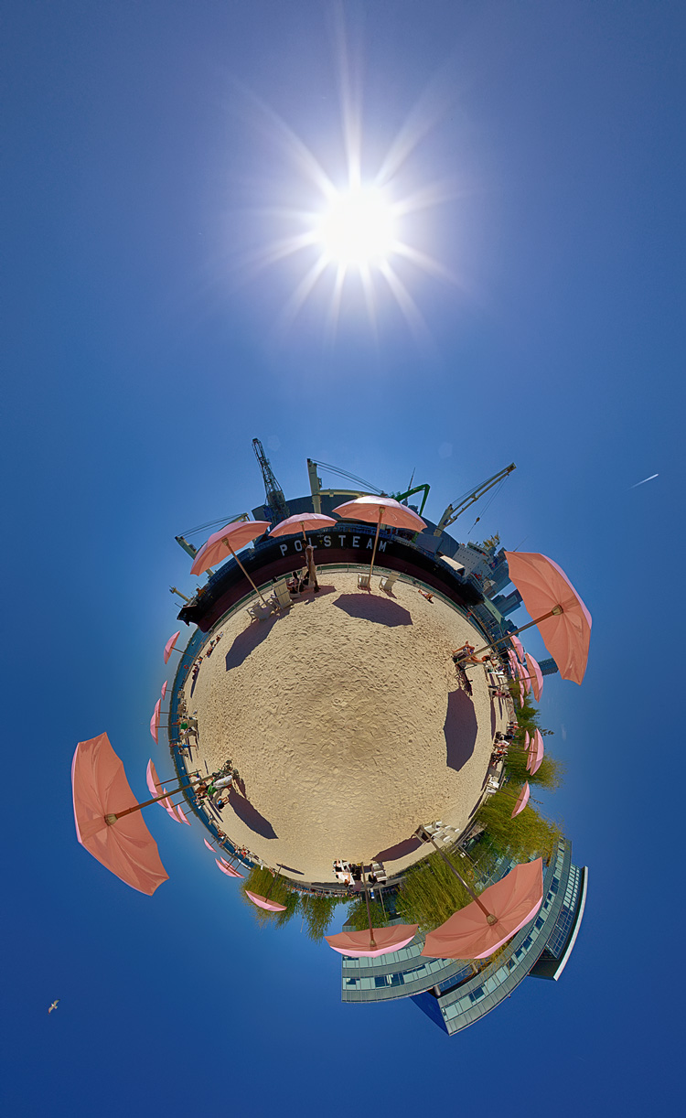 Umbrella Planet || Canon5D2/EF15mm Fisheye | Nodal Ninja 3