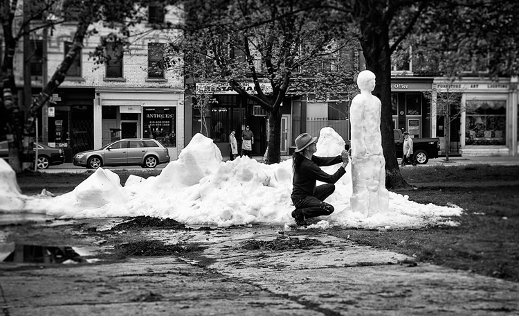 Snow Man in May || Panasonic GH3/Lumix12-35 | 1/500s | f5.6 | ISO200