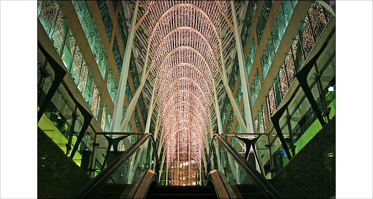bceplace lights | digital rebel | 1/15s | F/3.5 | ISO 400