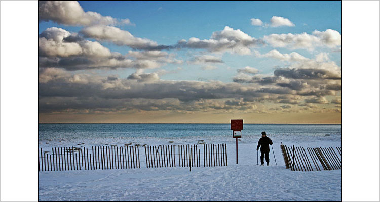 skier on beaches || Digital Rebel | 1/160s | F10 | ISO 100