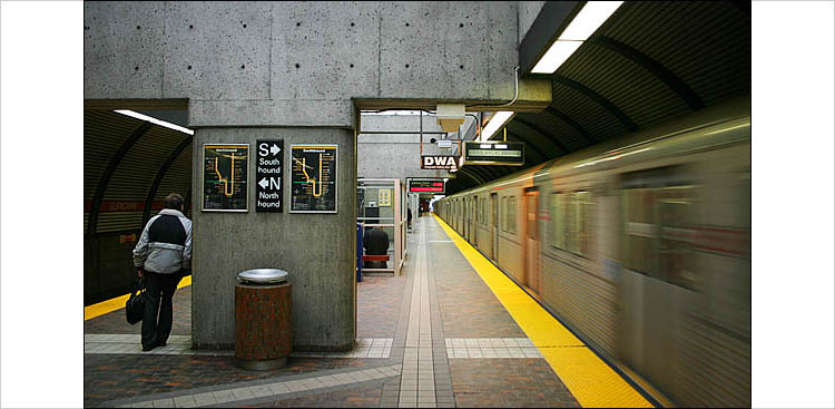 Glencairn Subway Station, Toronto