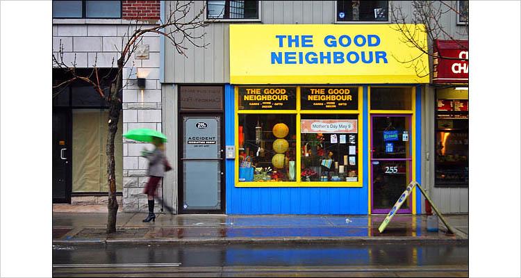 good neighbour || canon digital rebel | 1/8s | f5.6 | ISO 200 | handheld
