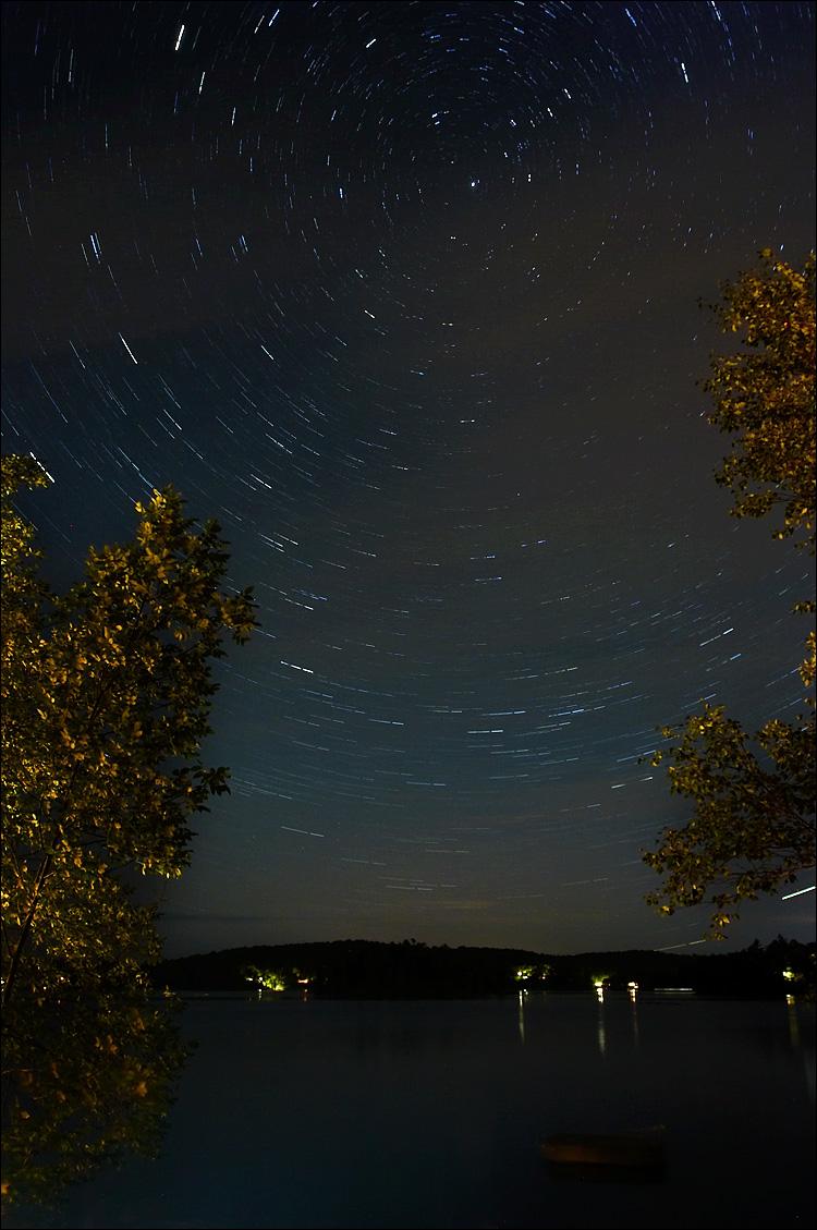 circular star trails || canon 350d/ef17-40L@17 | 15 min | f4.5 | iso200 | tripod