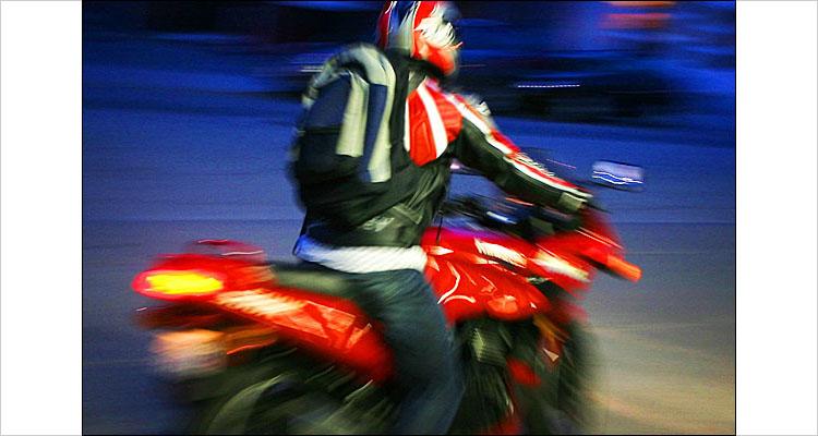 jorge on a red bike || digital rebel | 1/8s | F/3.5 | ISO 200