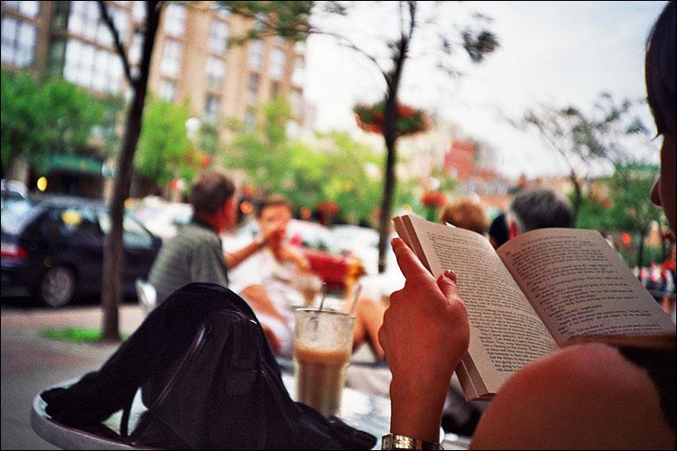 book reader || lomo lc-a | fuji reala iso100 negative