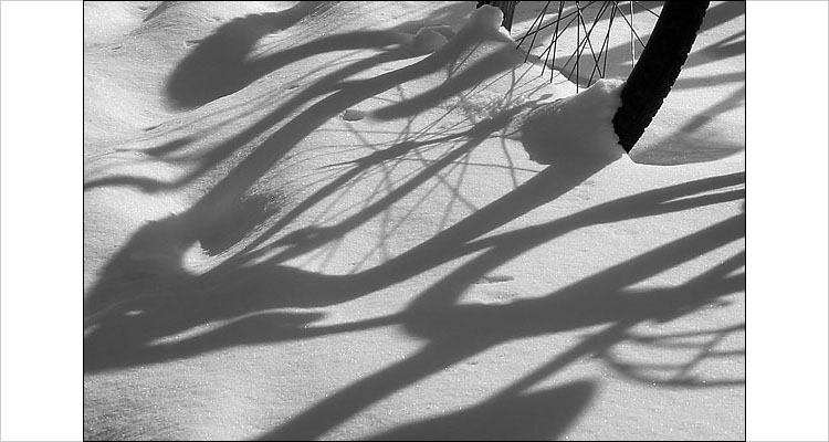 shadows on snow || 1/320s | F11 | ISO 100