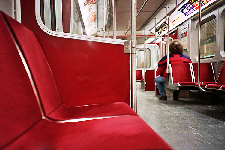 red seats || lomo lc-a | ISO 400