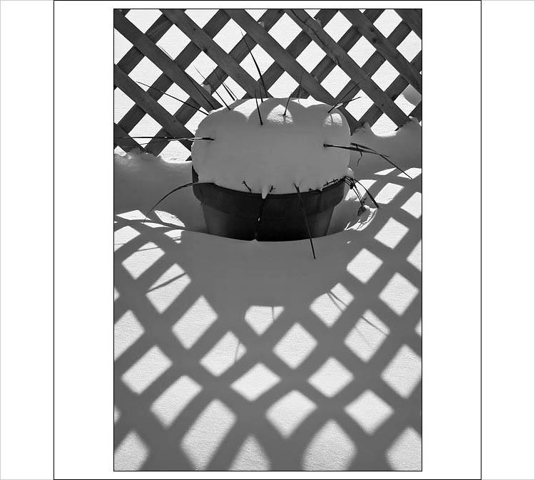 shadows on snow || 1/200s | F11 | ISO 100